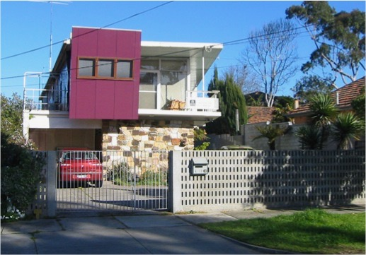 DEMOLISHED 13 Banksia Avenue – Tadeusz Karasinsky (his own home)